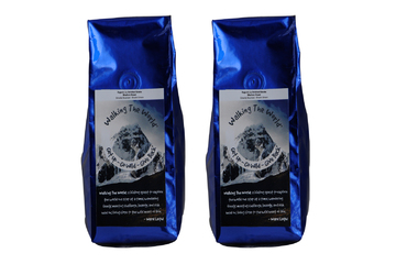 Blue and Blue Bags Coffee